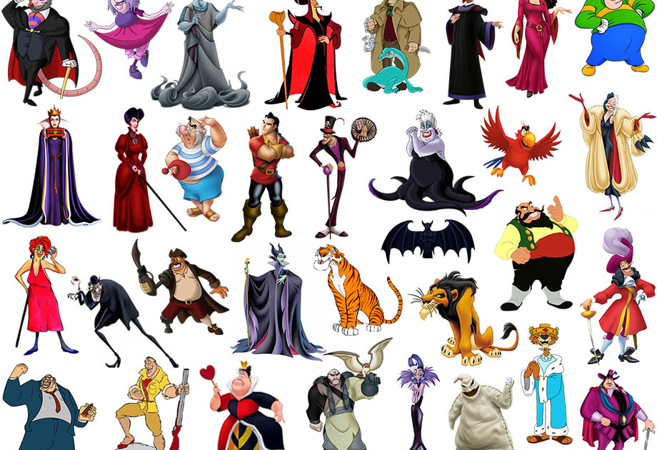 Top Ten Disney Villains Based on Success