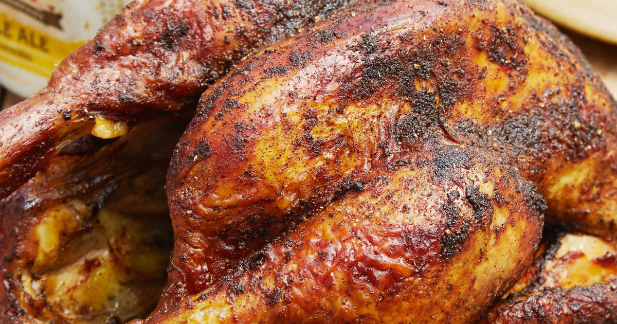 Perfect Beer Can Chicken Recipe