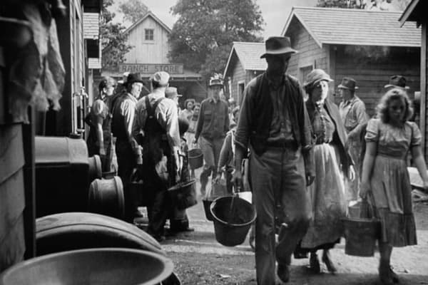 an analysis of the great depression in the movie the grape of wrath