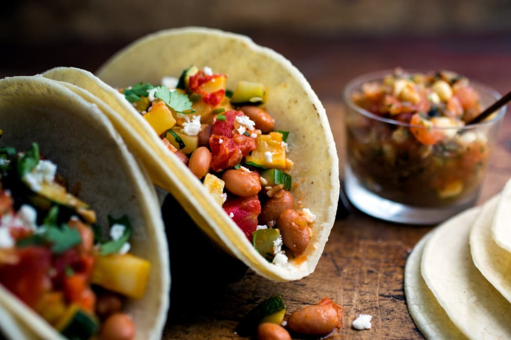 The Most Incredible Vegetarian Tacos