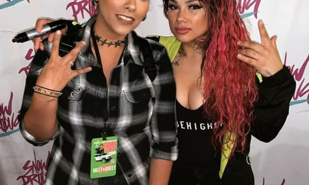 Snow Tha Product Goes Off!!