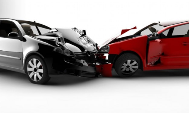 Two Uber Drivers Collide and Need the Jaws of Life