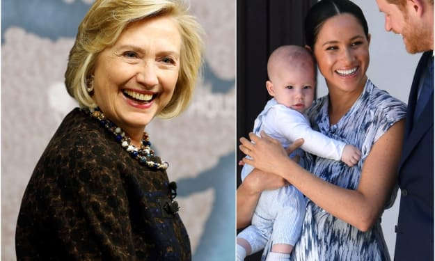 Meghan Markle Invited Hillary Clinton to Meet Baby Archie