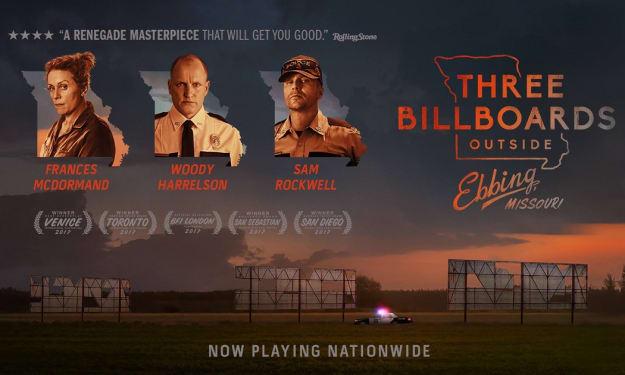 A Filmmaker's Review: 'Three Billboards Outside Ebbing, Missouri' (2017)