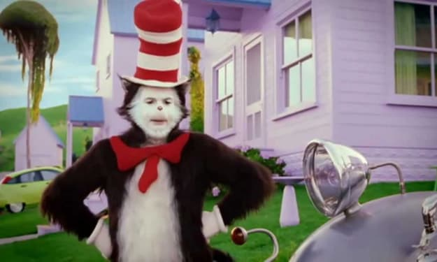 """My Review of """"The Cat in the Hat"""""""