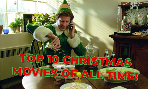 Top 10 Christmas Movies of All Time!