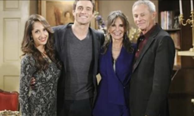 Jill and Lily return to Genoa City on The Young and the Restless