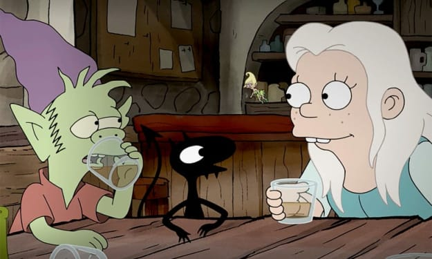 """My Review of """"Disenchantment Part 1 and 2"""""""