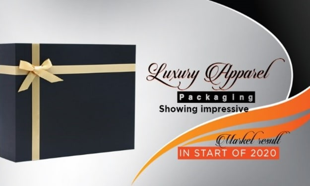 Luxury apparel packaging showing impressive market result in the start of 2020
