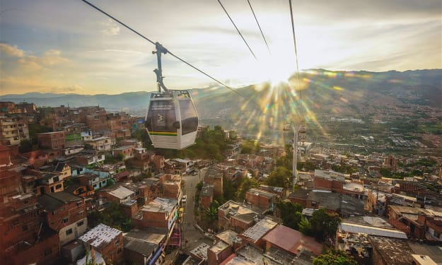 Apologies from Medellin