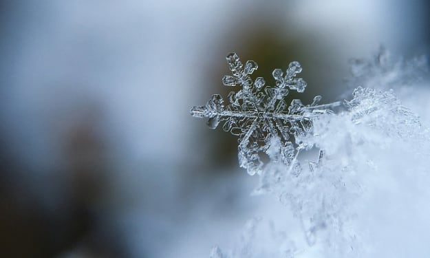 Why is it that Rain Drops, but Snow Falls?