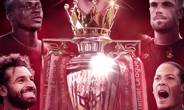 Liverpool are EPL Champions!!!