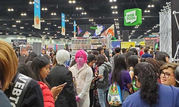Webtoon at Conventions: Part 1