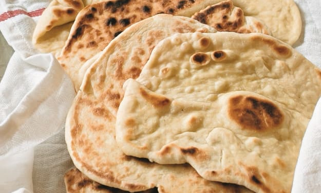 4 Ingredient Easy No-Bake Flatbread Recipe For Desperate Times.