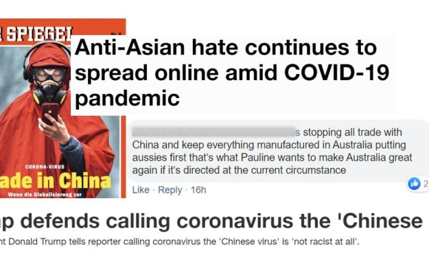 We'll say it again; Stop using SARS-CoV2 as an excuse to be racist!