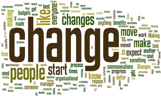 Adjusting to Change