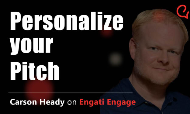Personalize your Pitch | Carson Heady | Engati Engage