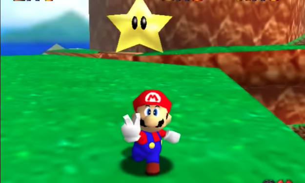 The 10 Most Frustrating Power Stars in Super Mario 64