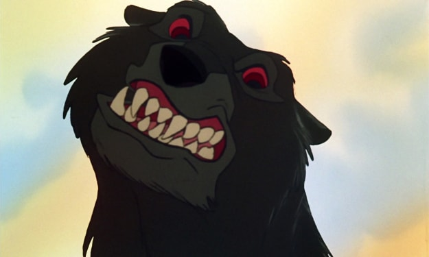 Scary Disney: The Fox and the Hound: Death, The Fight and The Bear