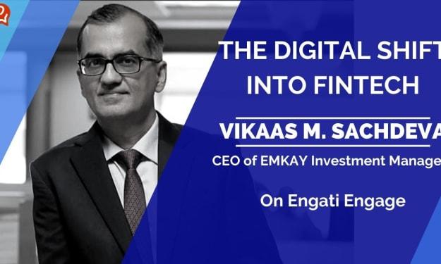 From Finserv to Fintech   Vikaas M. Sachdeva   Engati Engage — Engati Blog