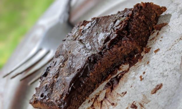 Super Fudgy Chocolate Lava Brownies