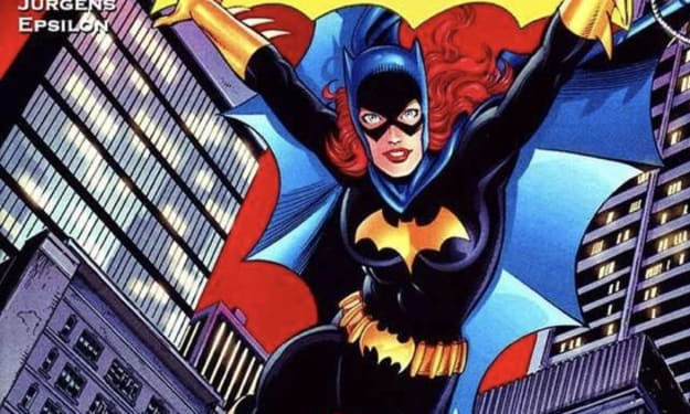 The evolution of Bat-girl