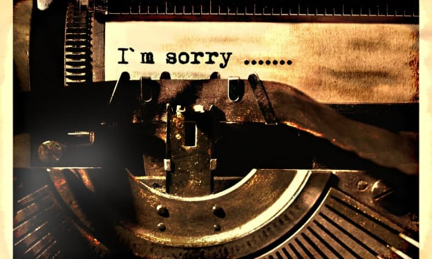 The Art of the Authentic Apology