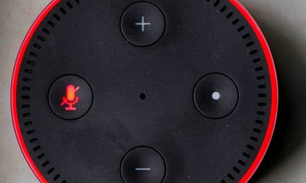 My Echo device is showing Red Light, what does it mean?