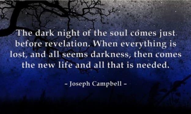 The Soul's Temperature: Dark Night