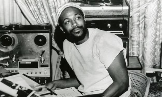 """Marvin Gaye's """"Whats Going On"""" was inspired by police brutality against (white) hippies"""