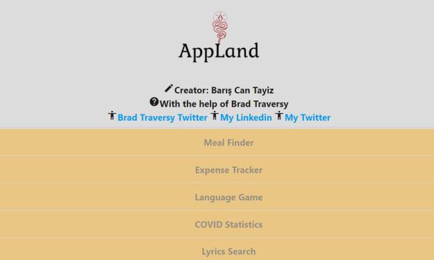 New Application Website