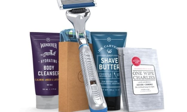 Dollar shave club is not just for men
