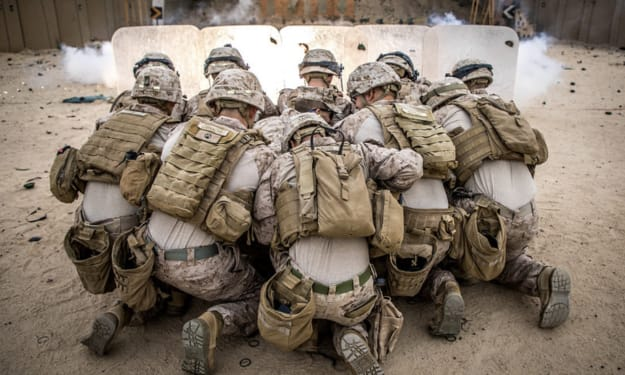 Marine Corps Stories: Bust' Down