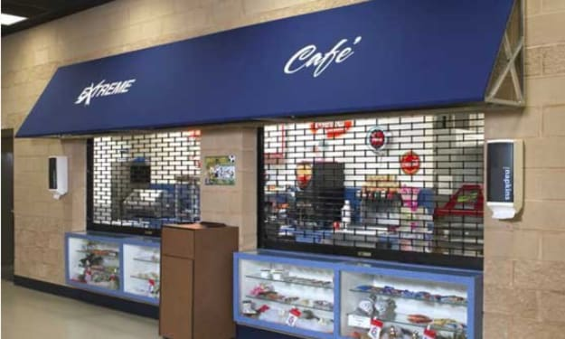 Why Choose a Wayne Dalton - Model 600 Rolling Grille Suitable for Retail Outlets in Angier, NC