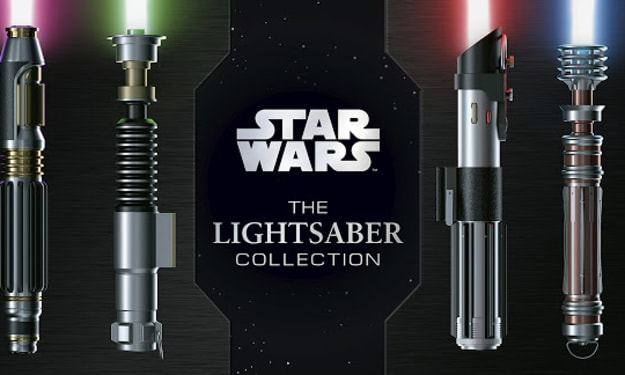 Check Out These New Looks at Lightsabers Belonging to Yoda, Anakin, and More!