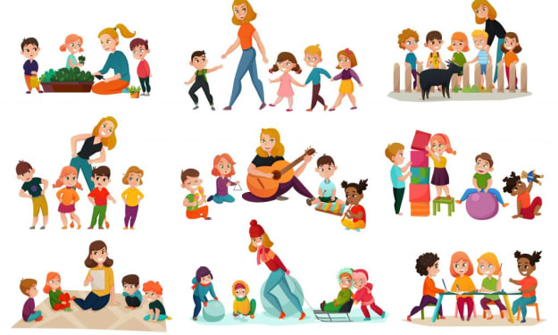 8 ways to teach English to Kids