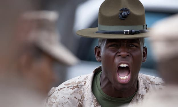 Marine Corps Stories: Frog Voice