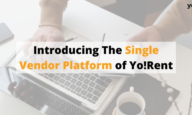 Launch of Single-vendor eCommerce Solution - Yo!Rent