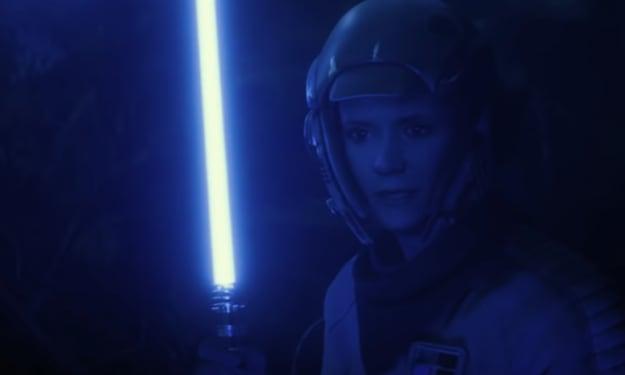 'Star Wars' Unveils Official Design of Leia Organa's Lightsaber