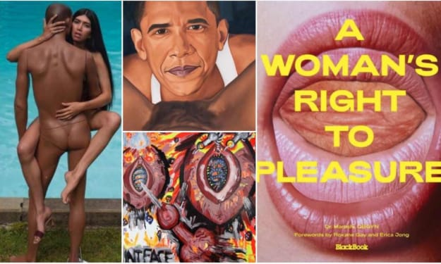 """PLEASURE IS WOMAN - THE VOLUME """"A WOMAN'S RIGHT TO PLEASURE"""" IS OUT"""
