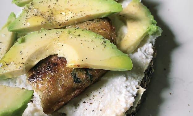 Healthy Vegetarian Avocado Hummus Toast   3 ways