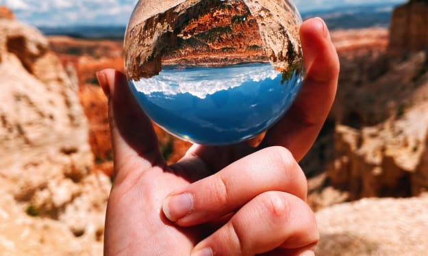 You have the world in your hands.