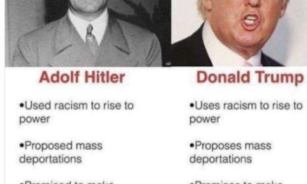 Is Trump Hitler Jr?