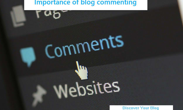 Importance of blog commenting