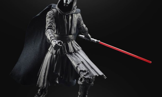 Hasbro Blacks Series and Funko Pop! Reveal 'Star Wars: Knights of the Old Republic' Character Figures