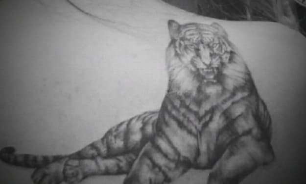 My one and only tiger who has got my back
