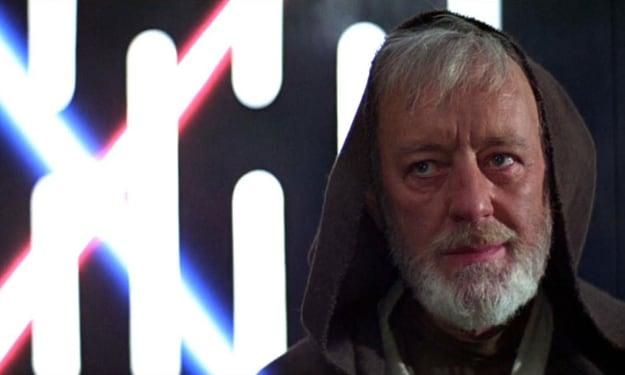 Why Does Obi-Wan Kenobi Smile Right Before He Dies?