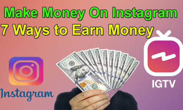 7 Ways to Earn Money on Instagram