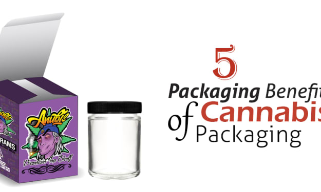5 Packaging Benefits of Cannabis Boxes