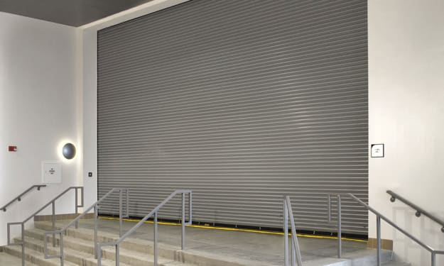 How a Rolling Fire Resistant Door Stops Fire and Smoke in an Establishment in Orlando, FL